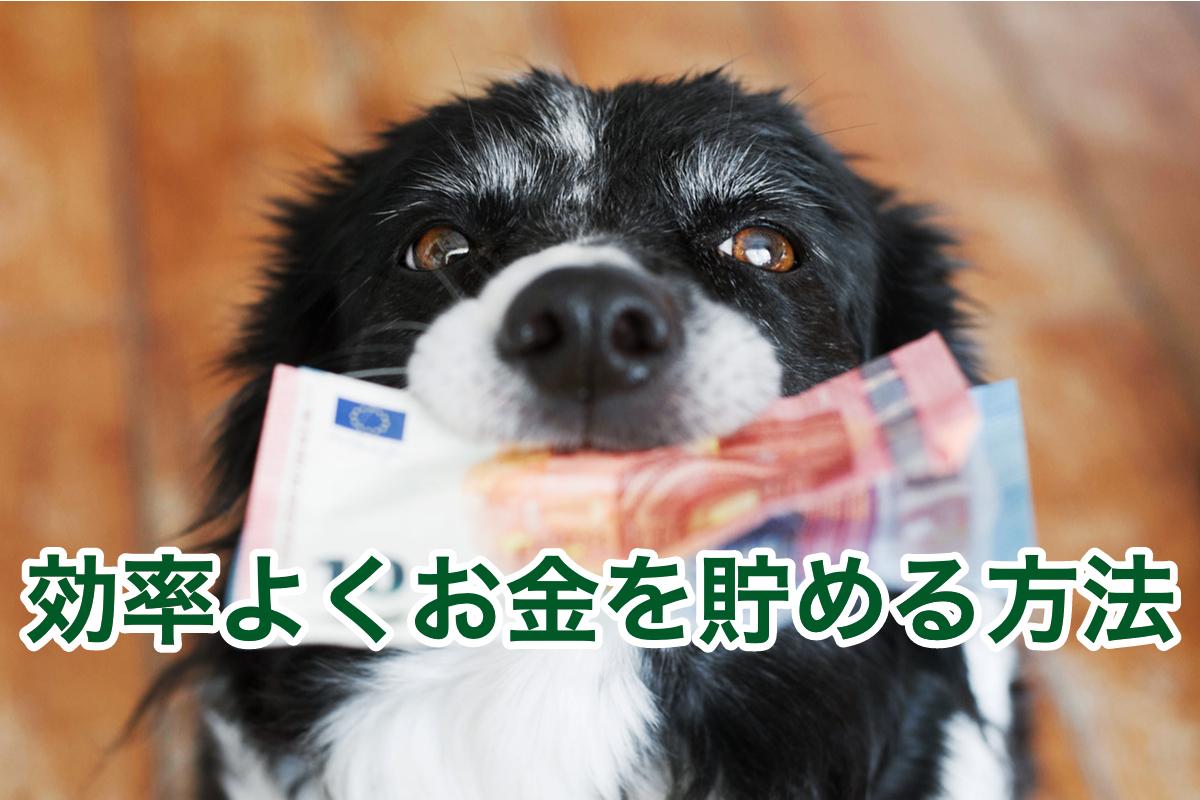 効率よくお金を貯める方法