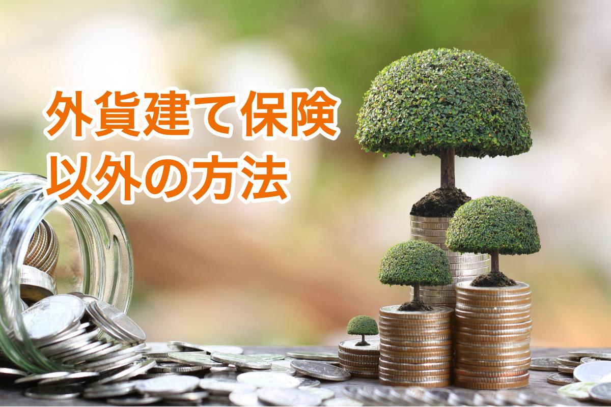 外貨建て保険以外の方法